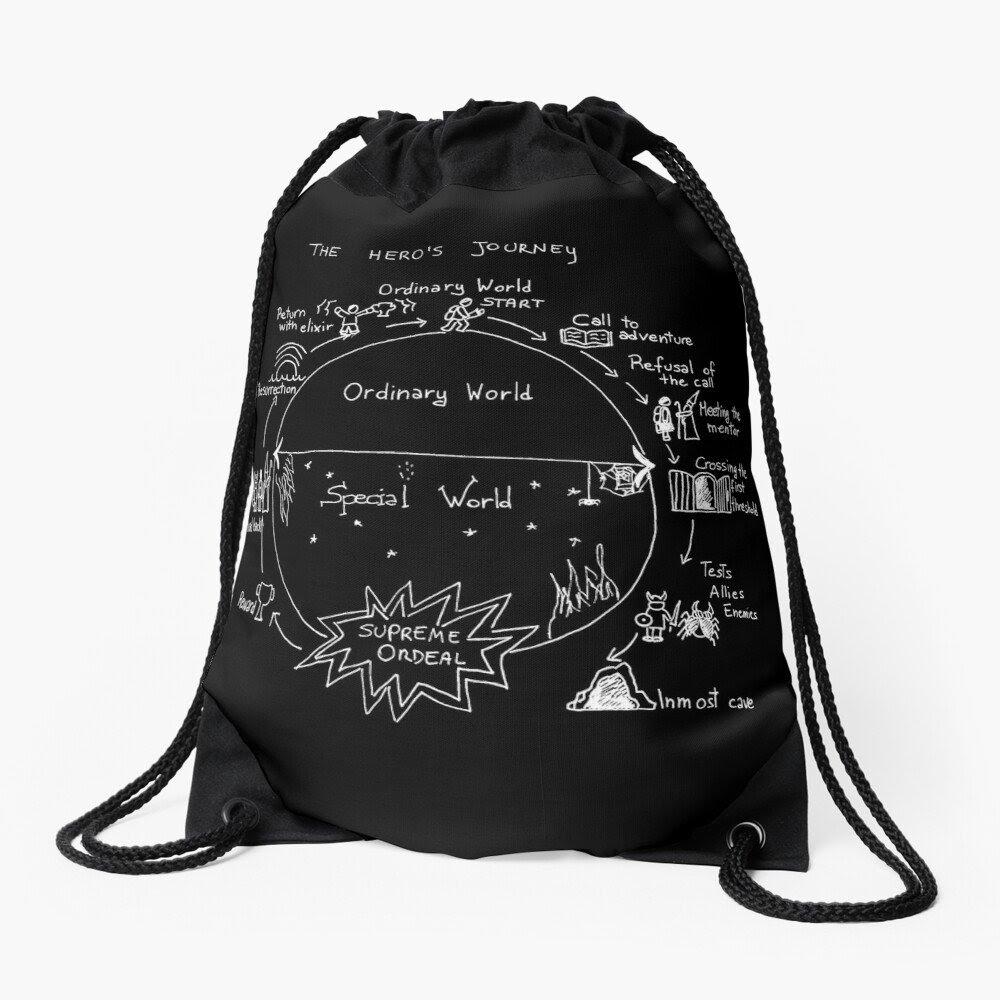 Hero's journey stringbag