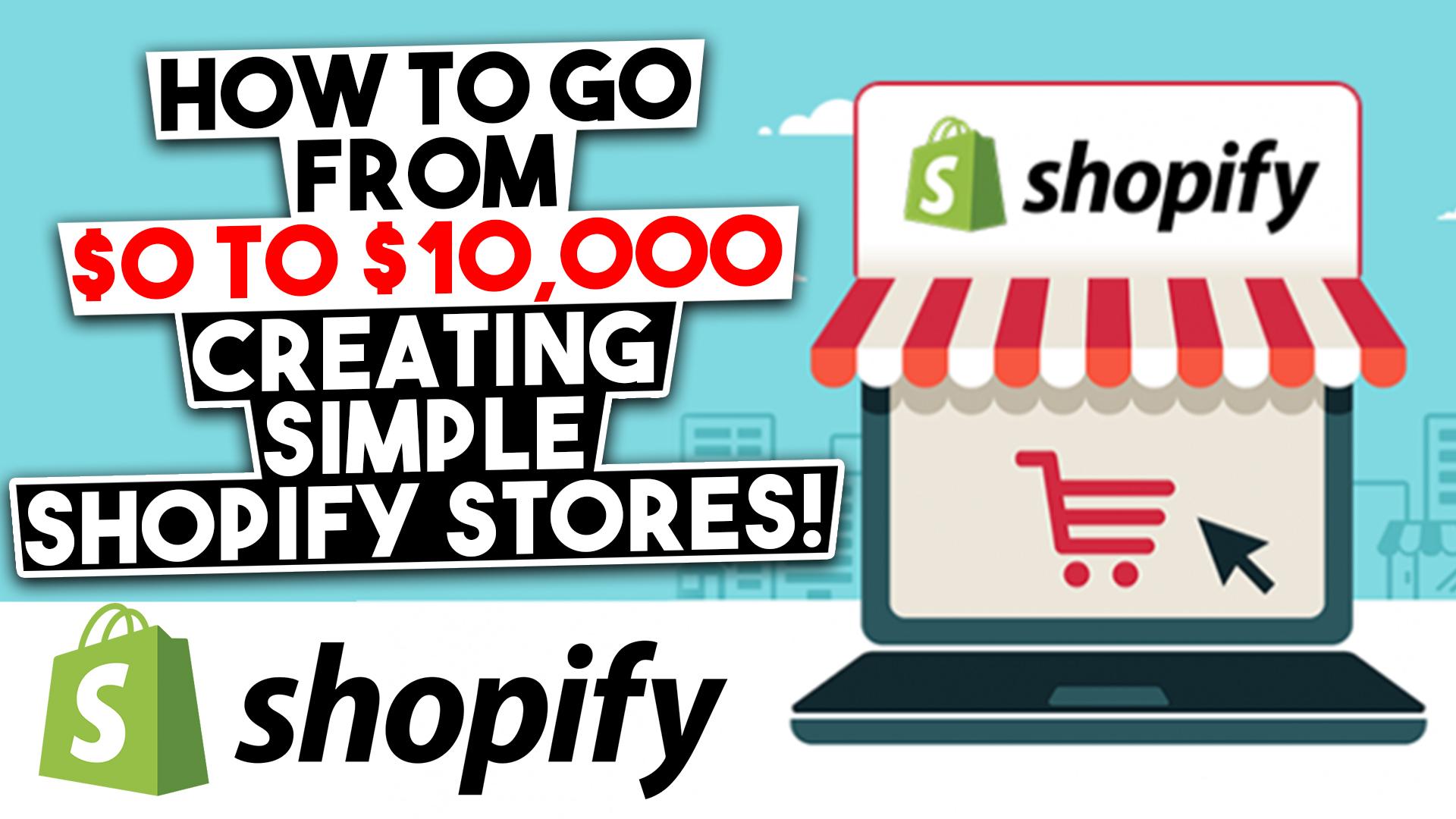 Taijaun Reshard – 0 to 10K Building Simple Shopify Stores