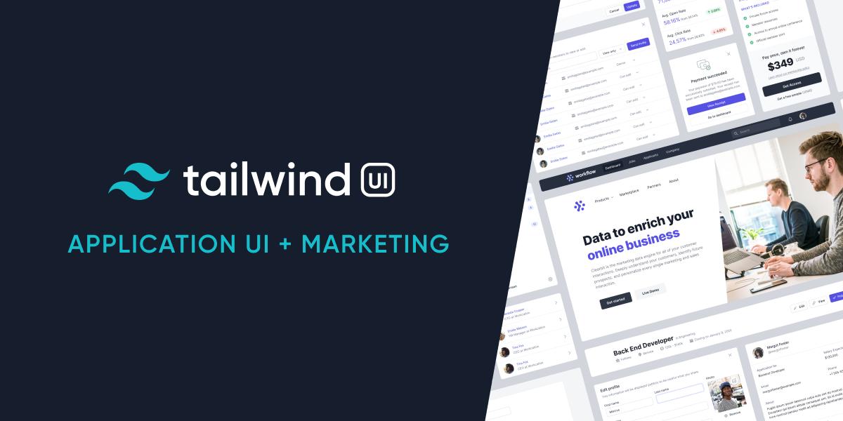 [VIP] Tailwind UI (Application UI + Marketing) [Updated 28.08.2021]