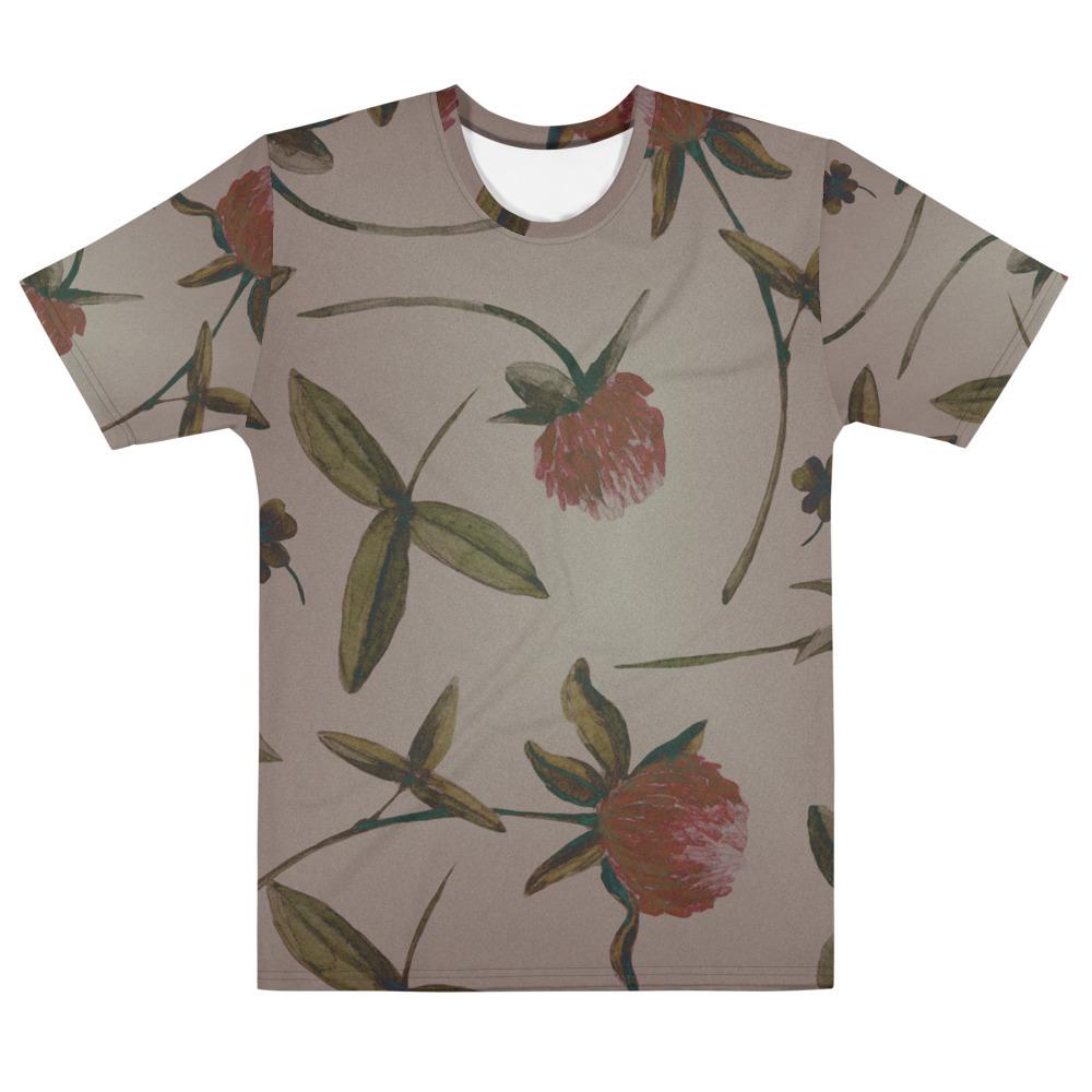 Vintage Flowers Men's All-Over print T-shirt image mockup