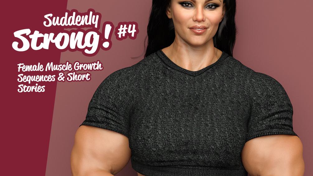 Comics female muscle growth PettyExpo —