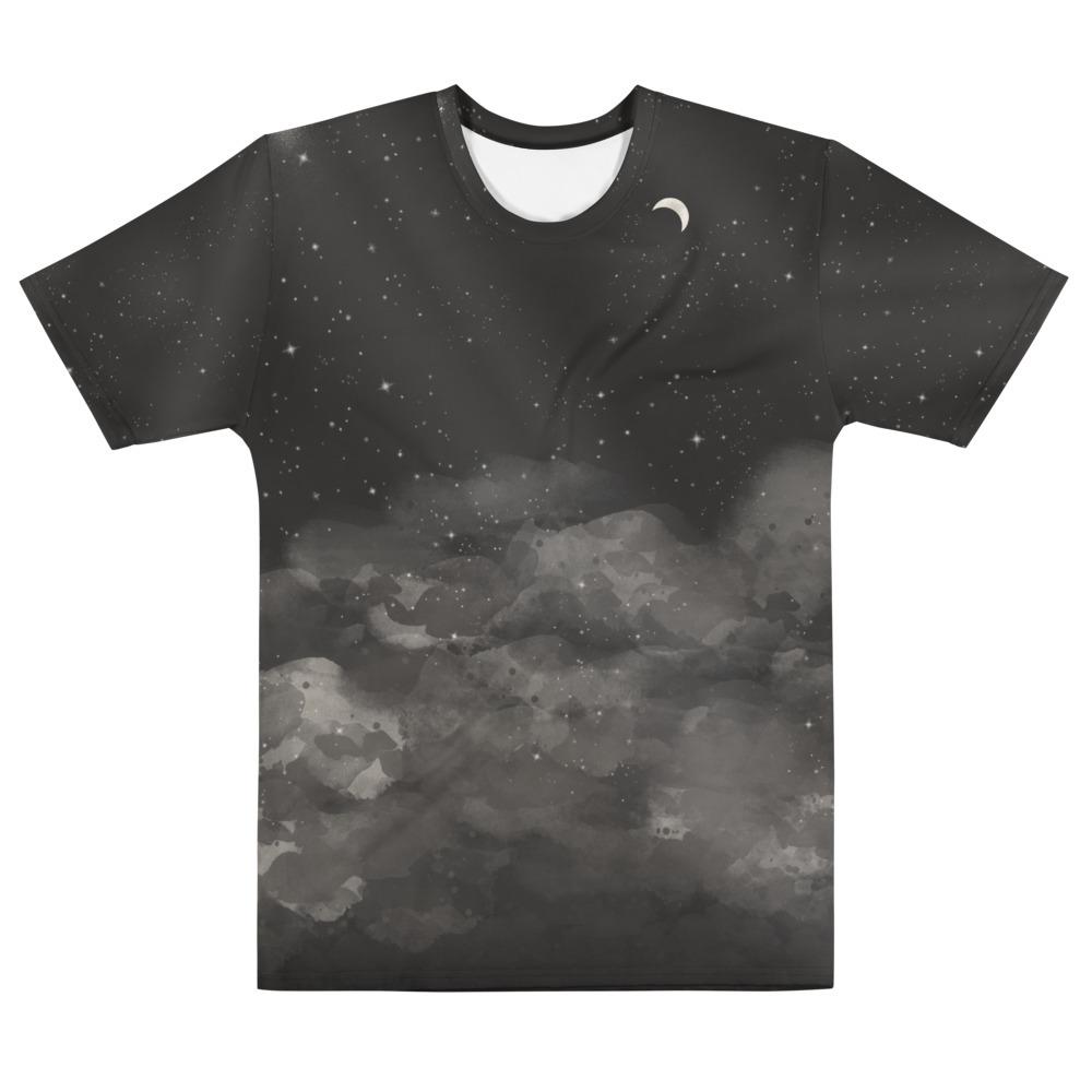 Night Sky Men's All-Over print T-shirt image mockup