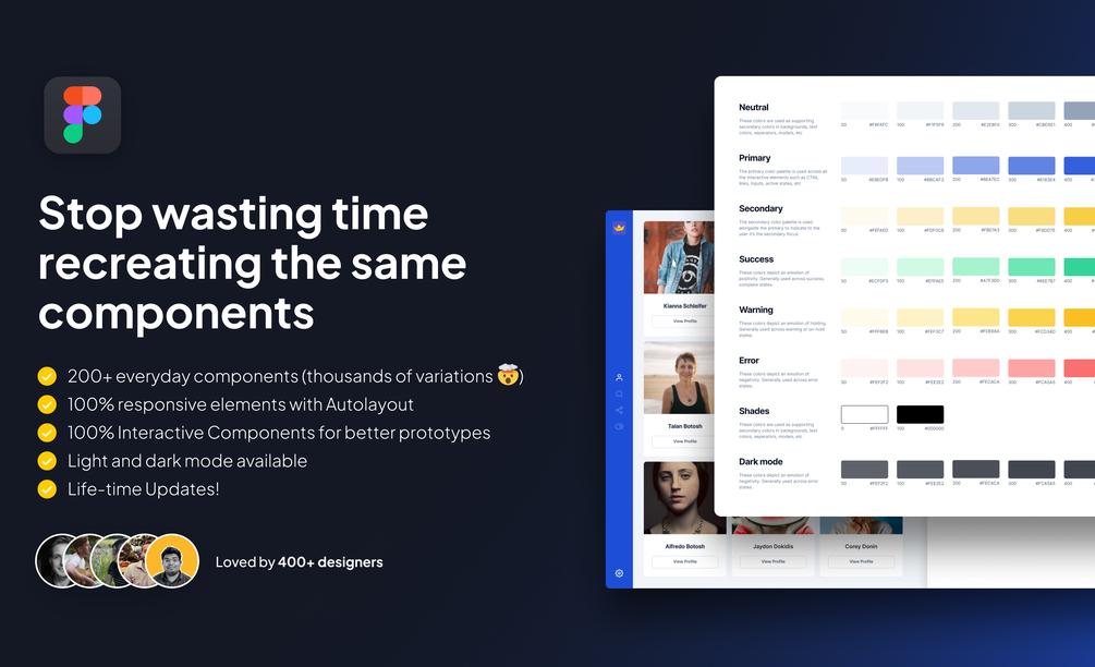 [VIP] The Designership: Figma Design System