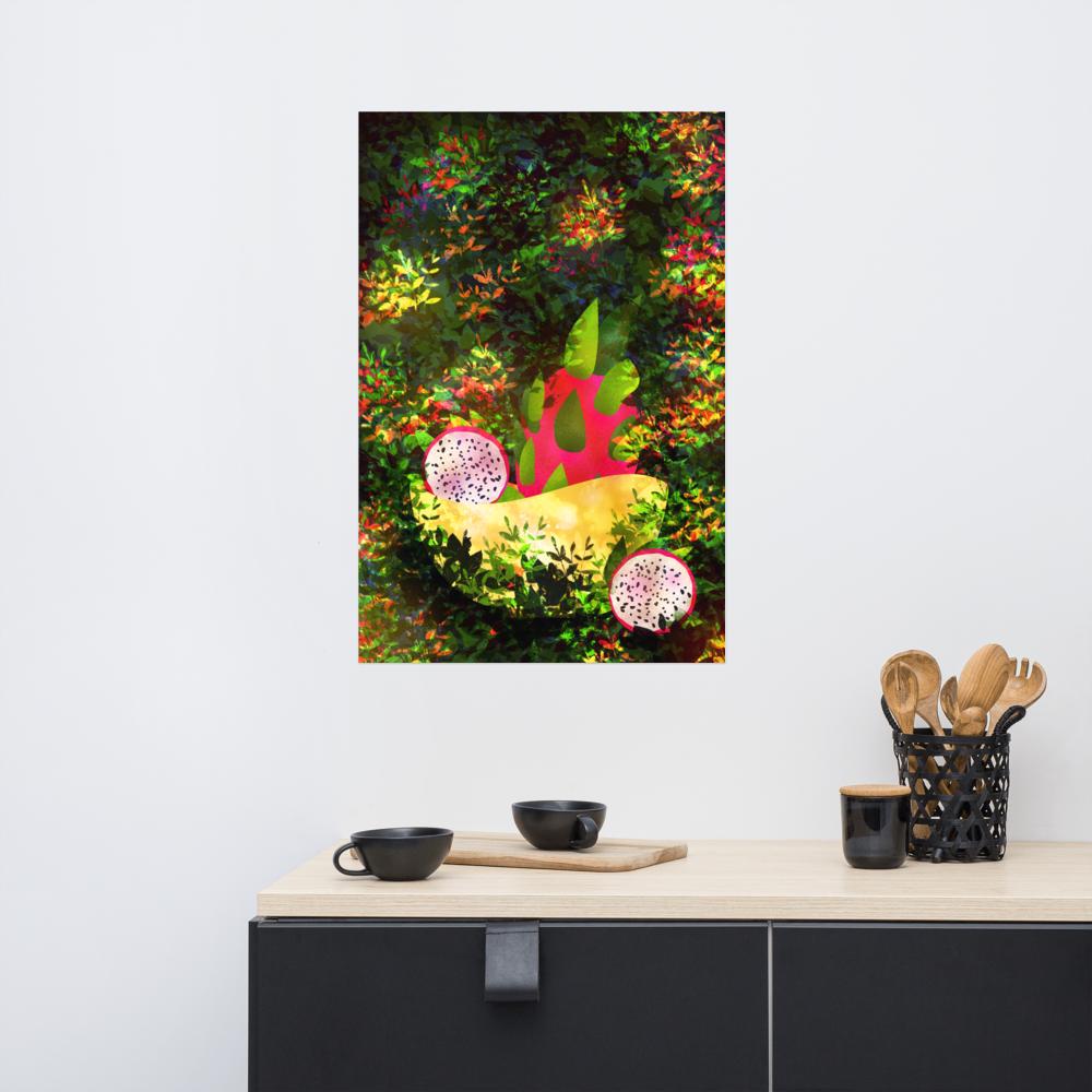 Dragonfruit Poster image mockup