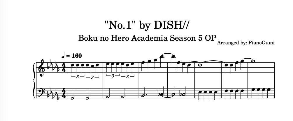 No.1 dish//