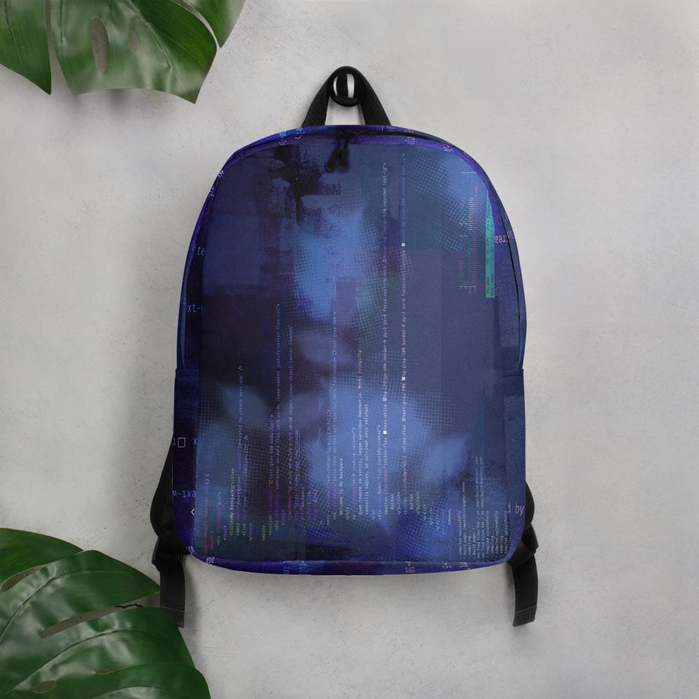 Code Minimalist Backpack image mockup